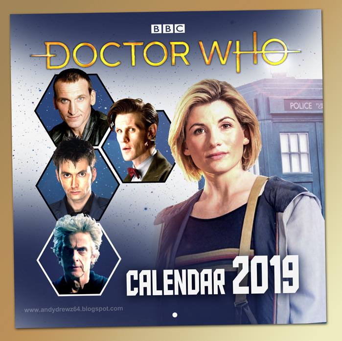 Dr Who Christmas Special 2019.Andydrewz S Pages That Doctor Who Calendar 2019