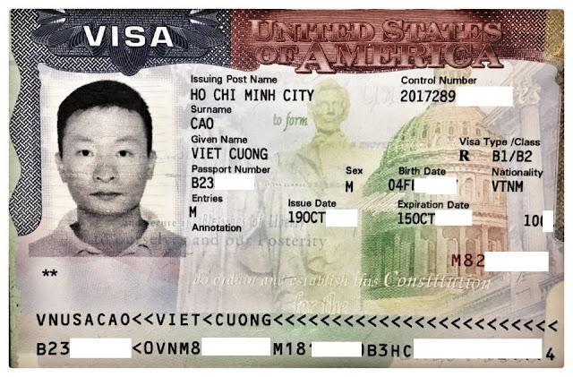 PHỎNG VẤN VISA MỸ MỚI NHẤT 10.2017