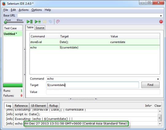 Testing in easy way : Date Function in selenium IDE