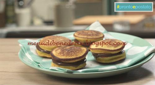 Dorayaki ricetta Benedetta Parodi da #prontoepostato