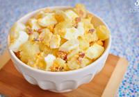 salada ovos bacon