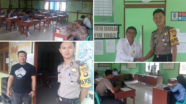 UNKP di SMP PGRI 02 Tapang Semadak