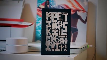 MOO x Timothy Goodman | Das limitierte Hardcover Notizbuch gegen langweilige Meetings