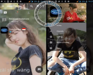Cara Mudah Ganti Background Foto Aplikasi BBM Mod dengan foto sendiri