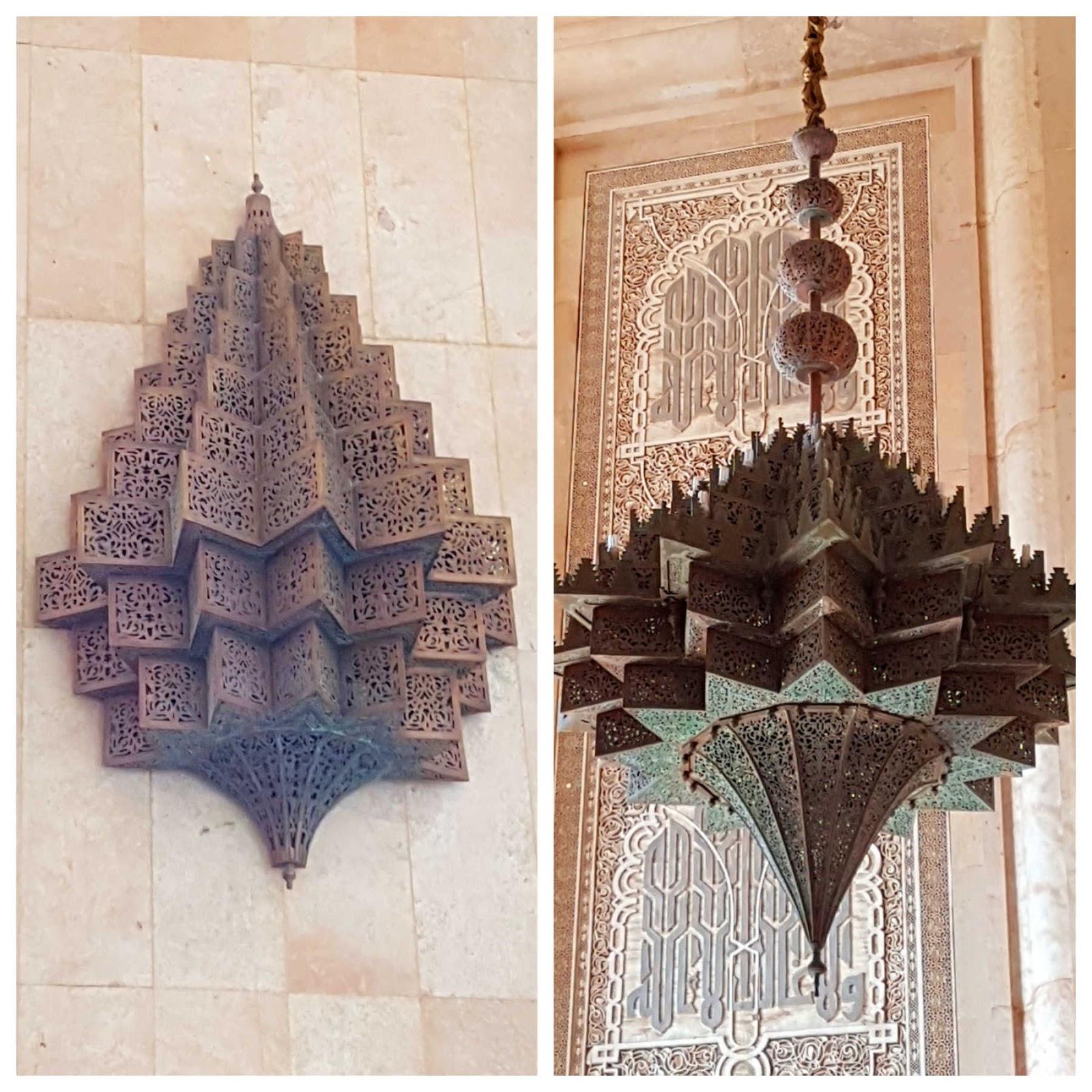 Mesquita Hassan II em Casablanca, Marrocos.