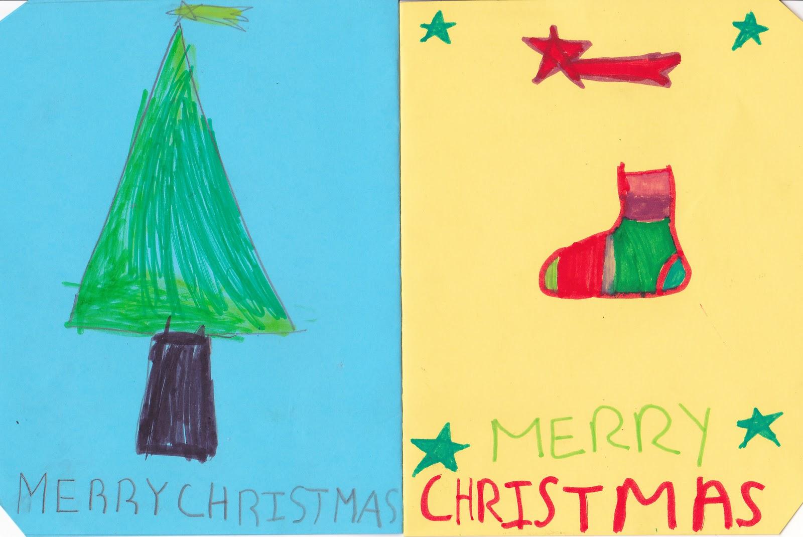 Ceip El Zargal Second Grade Christmas Cards