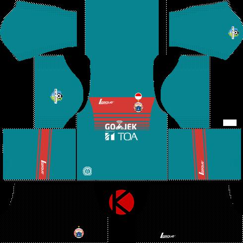 Persija Jakarta Kits 2017 2018 Dream League Soccer Kuchalana