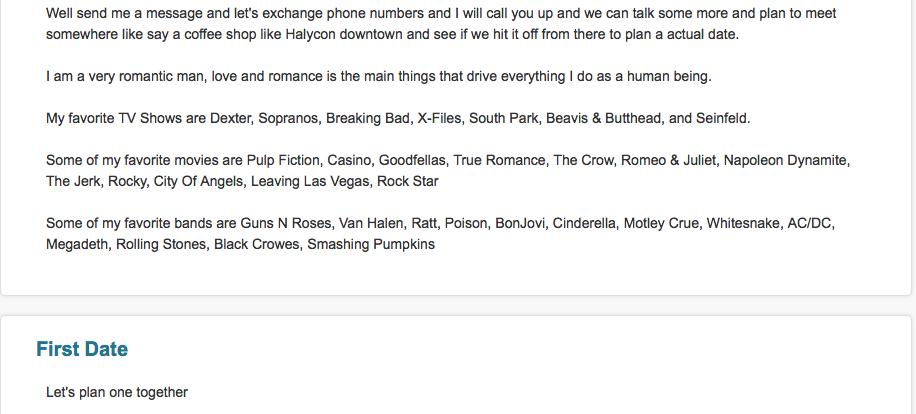 open online dating