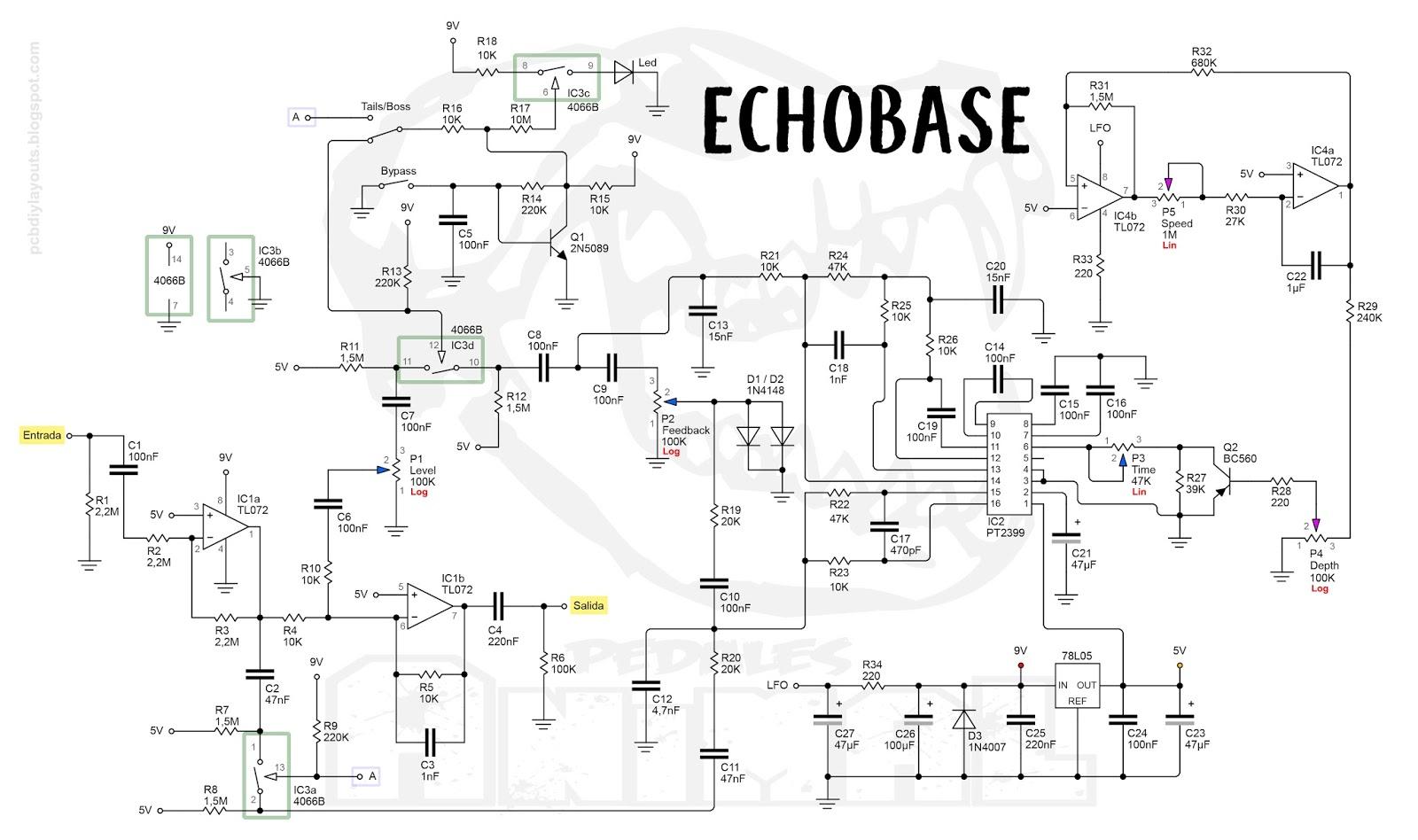 Pcb Diy Layouts Echobase