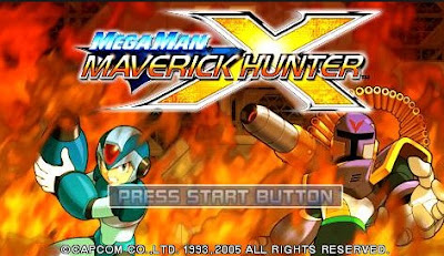 Download Megaman Maverick Hunter X PSP CSO ISO