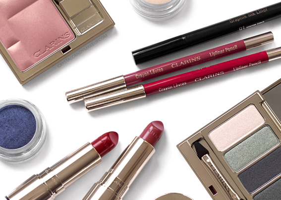 Clarins Graphik Makeup Collection Fall 2017 Review Photos Swatches
