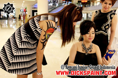 Face Body Painting Jakarta