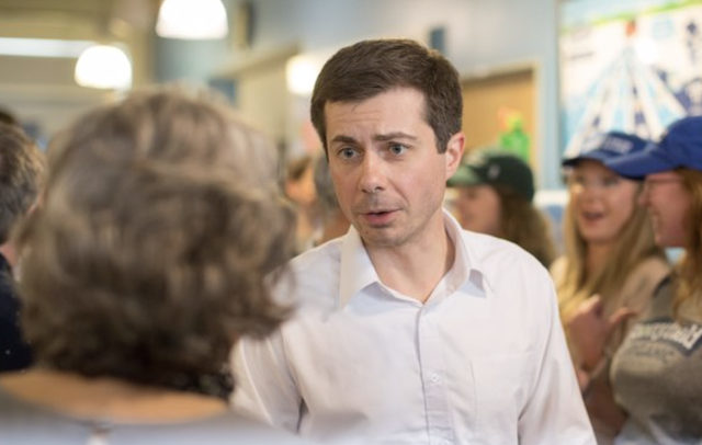 Mayor Pete Buttigieg Faces Anti-Gay Hecklers in Dallas