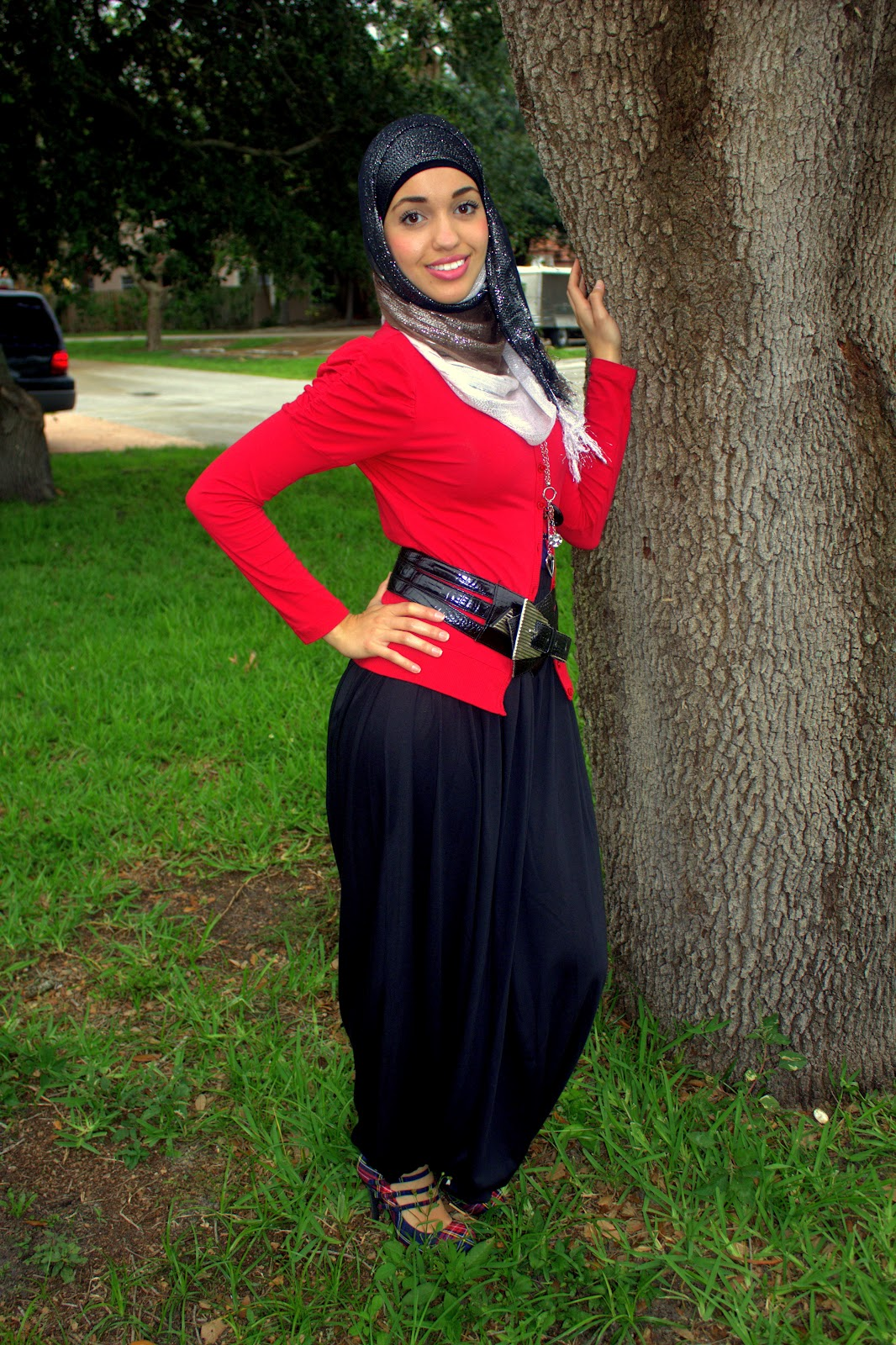YazTheSpaz & ALL Her Pizazz!: Hijabi Outfit Of The Day #9