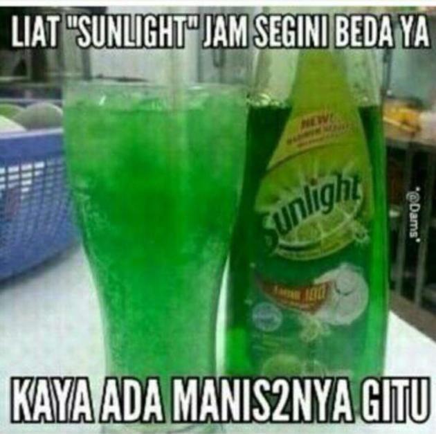 gambar meme lucu puasa ramadhan