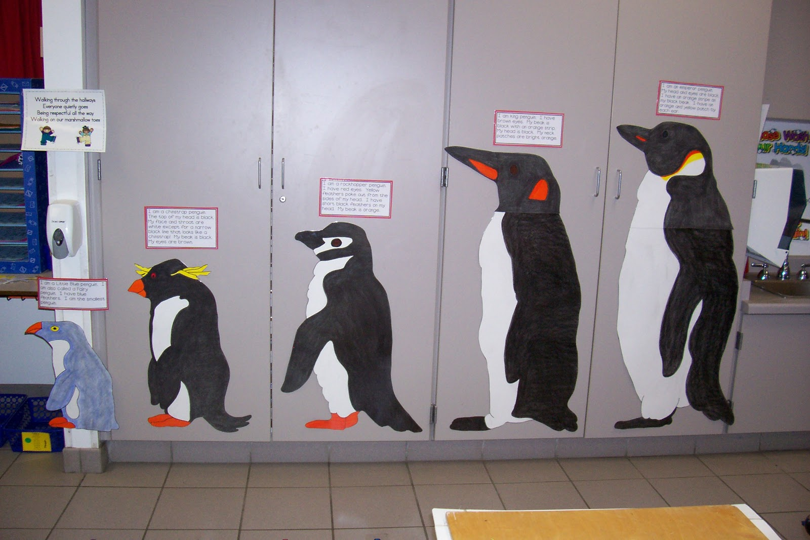 Emperor Penguin Height Comparison