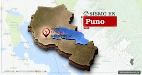 Temblor en Puno de 4.2 Grados (Hoy Martes 17 Octubre 2017) Sismo EPICENTRO Lampa - Palca - Pucará - IGP - www.igp.gob.pe
