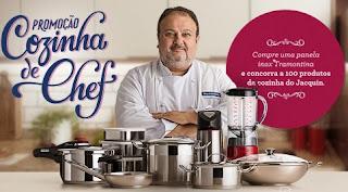 Cadastrar Promoção Tramontina 2017 Cozinha de Chef Érick Jacquin