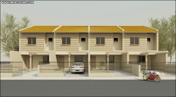 casa geminada grande