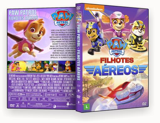 CAPA – Patrulha Canina Filhotes Aereos DVD-R