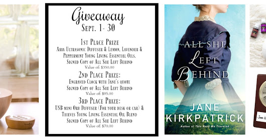 The Kindness of Strangers and Friends (and a GIVEAWAY announcement!)