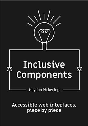 Portada del libro Inclusive Components de Heydon Pickering