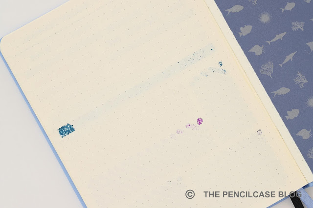Paper review: Dingbats Earth bullet journal notebook