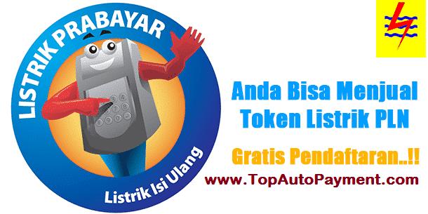 Cara Transaksi Pulsa Listrik dan Cetak Struk Token PLN Prabayar di TOP Auto Payment