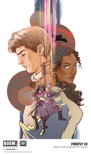 FIREFLY #2  Variant Cover By Marguerite Sauvage