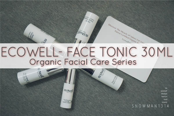 [Review] Anti-aging Ecowell Facial Care Essentials - Face Tonic
