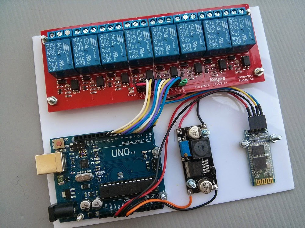 Wiring Diagram For 5 Pin Relay Yardman Mower Deck Belt Android Arduino Control: Bluetooth Control Smart Home