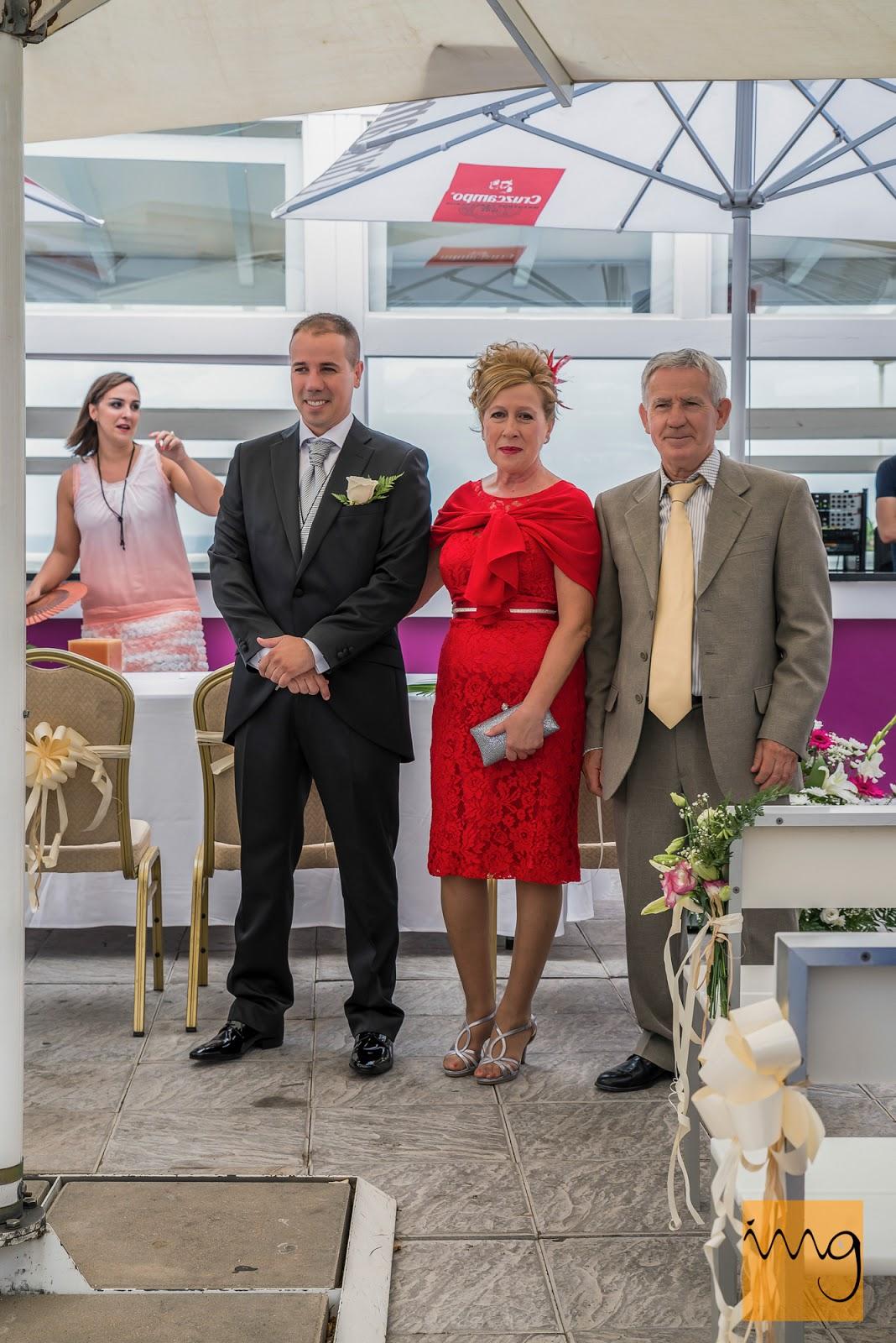 Fotografía de la primera vez que ve el novio a la novia