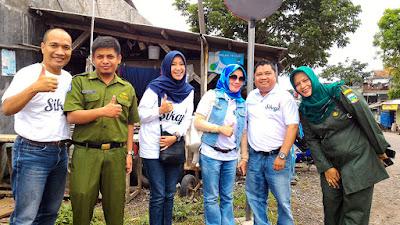 Tim HA IPB Priatim lengkap, kika : Eri. Hendayana, Mega, Elin, M. Ridwansyaf. dan Fitri.