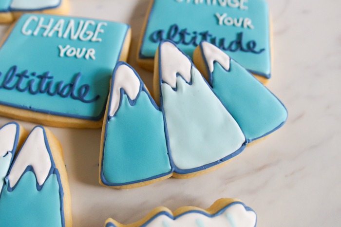 Change Your Altitude Mountain Cookies