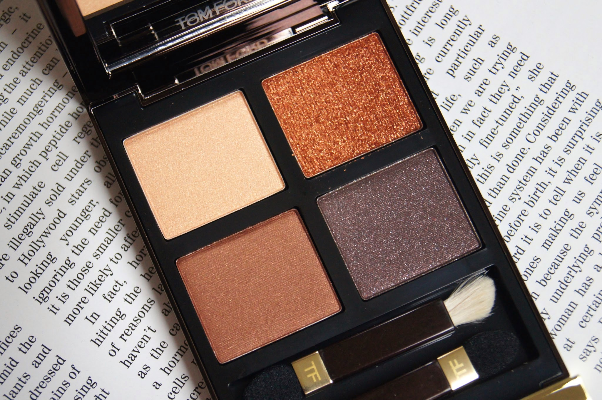 tom ford eye color quad review swatches cognac sable nude warm toned bronze golden