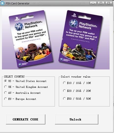 PSN Card Code Generator - Deal of the Week ~ Evgeniy Bogachev