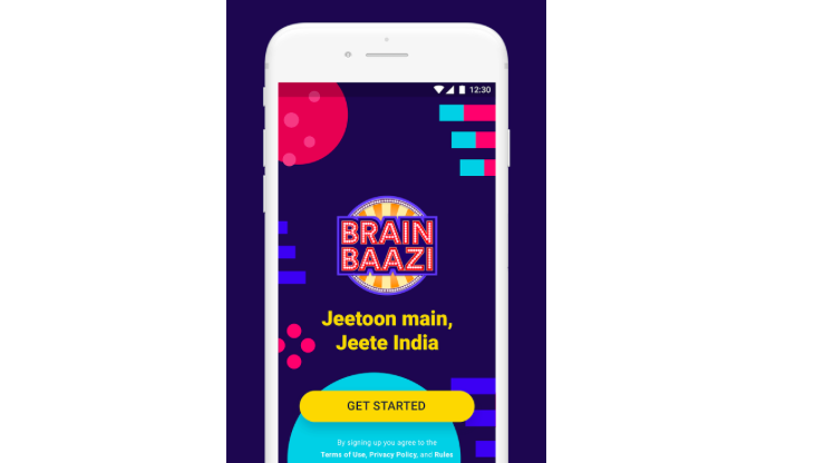 Brain Baazi is India's Live Quiz Show Game like HQ