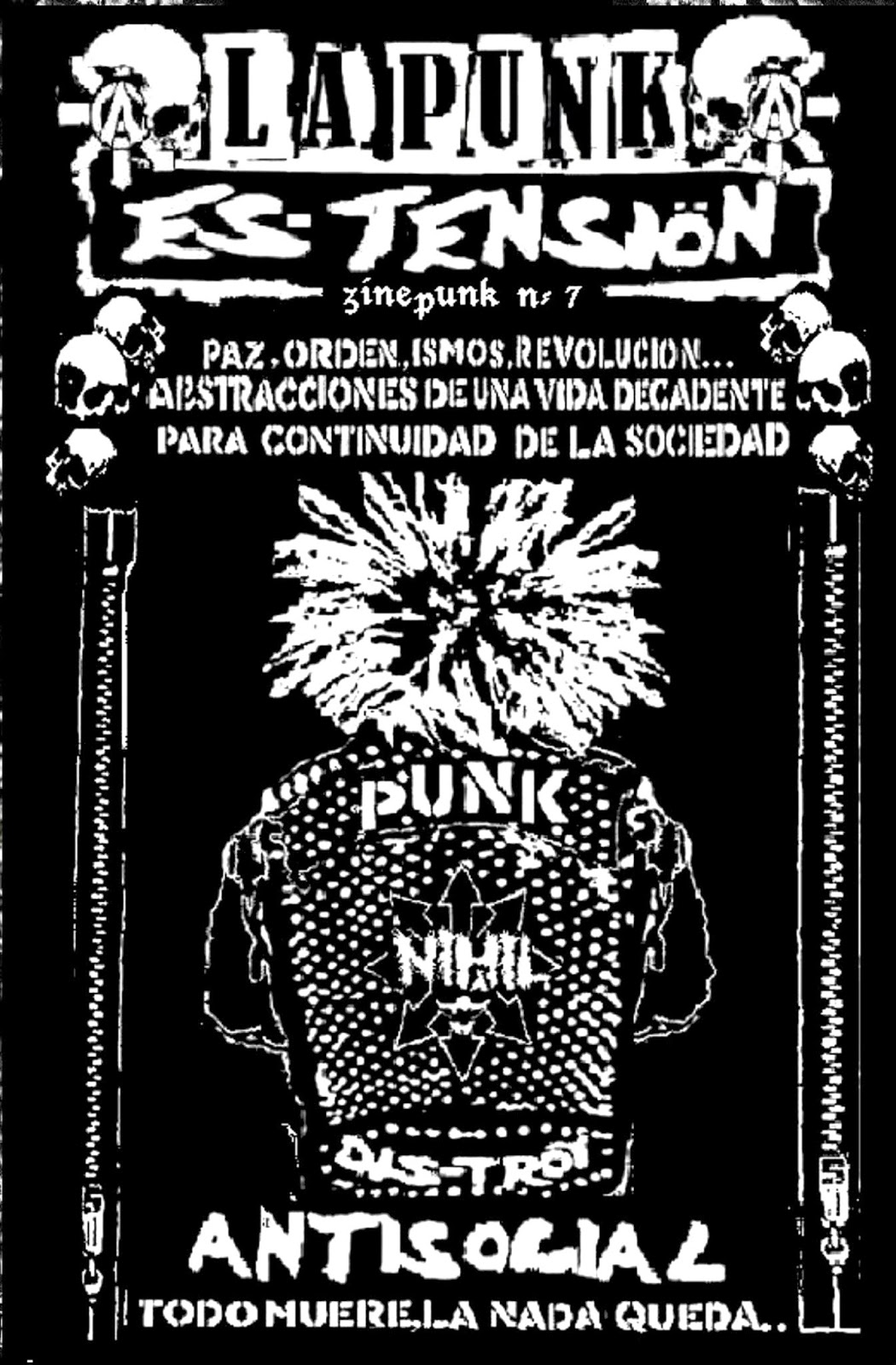 LA PUNK ES TENSION N7
