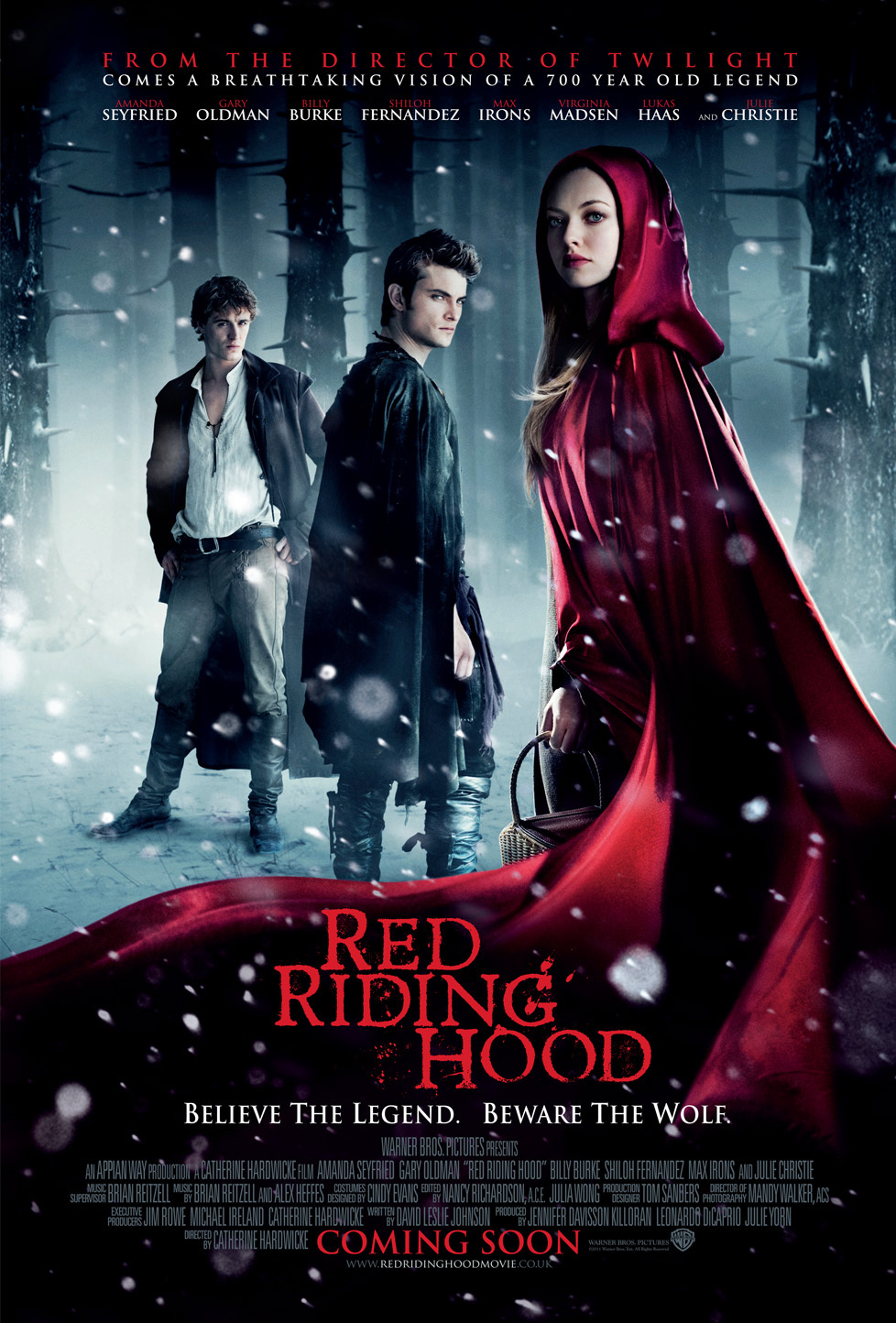 Red Riding Hood (2011) Hindi Dual Audio BluRay | 720p | 480p