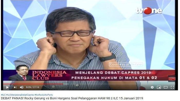 Sindiran Rocky Soal Usia Jokowi Jadi Presiden, Berapa Hari?