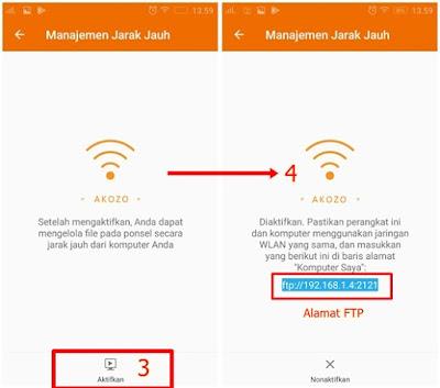 Cara Mudah Transfer Data Android-PC Tanpa Aplikasi