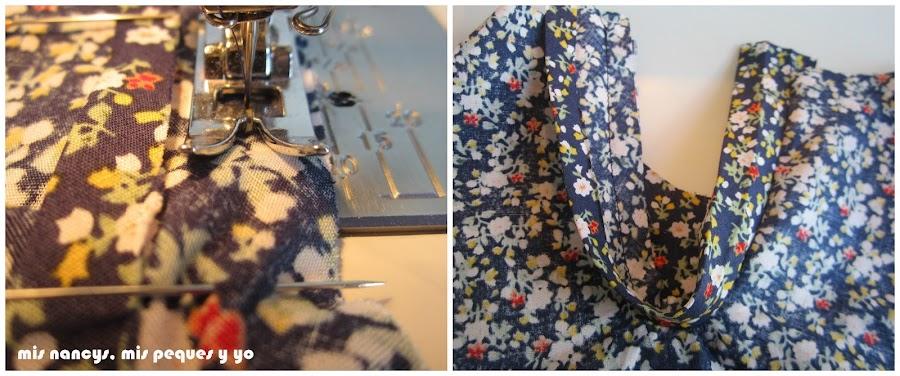 mis nancys, mis peques y yo, tutorial blusa sin mangas niña (patrón gratis), coser bies abertura