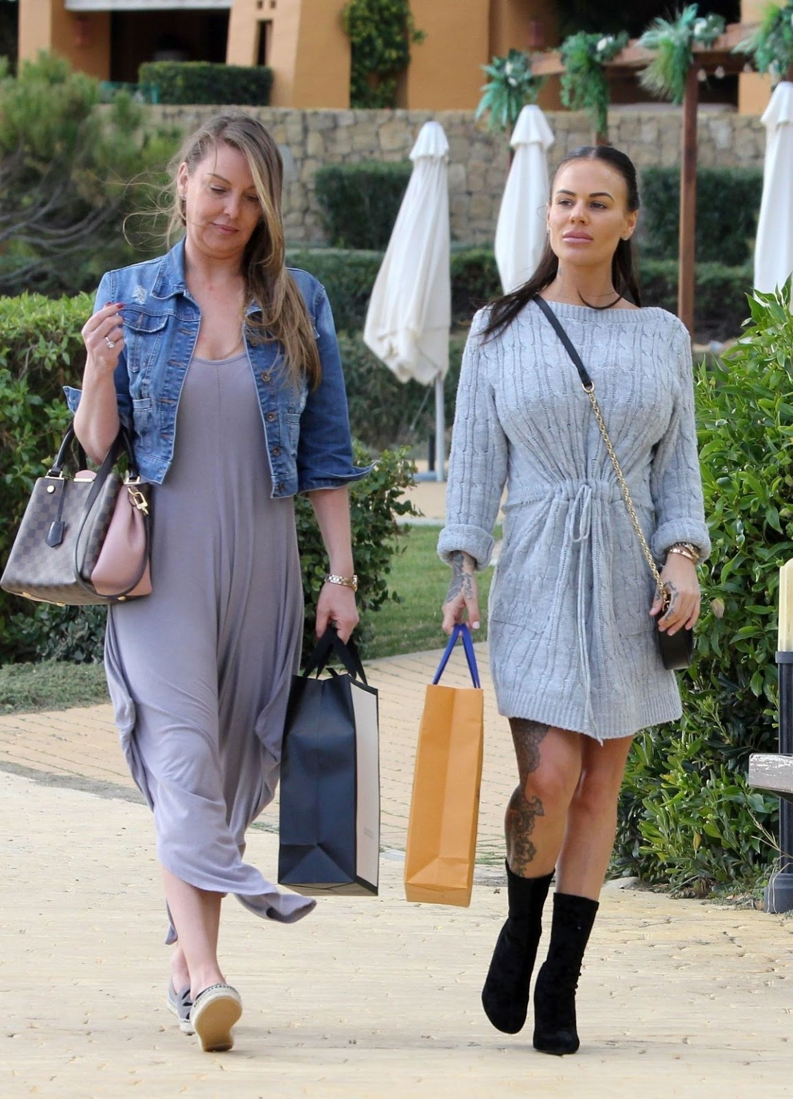 Chantelle Connelly - Out and About in Marbella - 01/30/2019