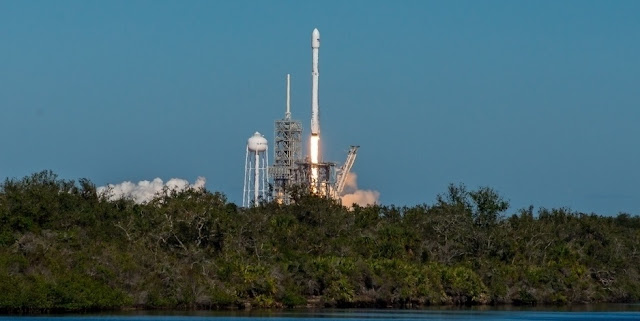 SpaceX launched KoreaSat 5A at 3:34 p.m. EDT (19:34 GMT) Oct. 30, 2017, from Kennedy Space Center's Launch Complex 39A, marking the 16th flight the NewSpace company has conducted in 2017. Photo Credit: Vikash Mahadeo / SpaceFlight Insider