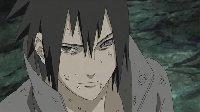 Sasuke mendapatkan Rinnegan setelah menerima chakra dari Hagoromo