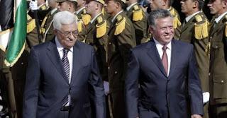 Le roi Abdallah II de Jordanie rencontre lundi le président palestinien Mahmoud Abbas