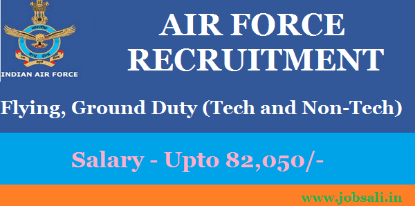 Air Force Recruitment 2017, Join Indian Air Force, Air Force Vacancy