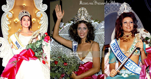 MISS UNIVERSO - O GLAMOUR DAS FOTOS GETTY´S