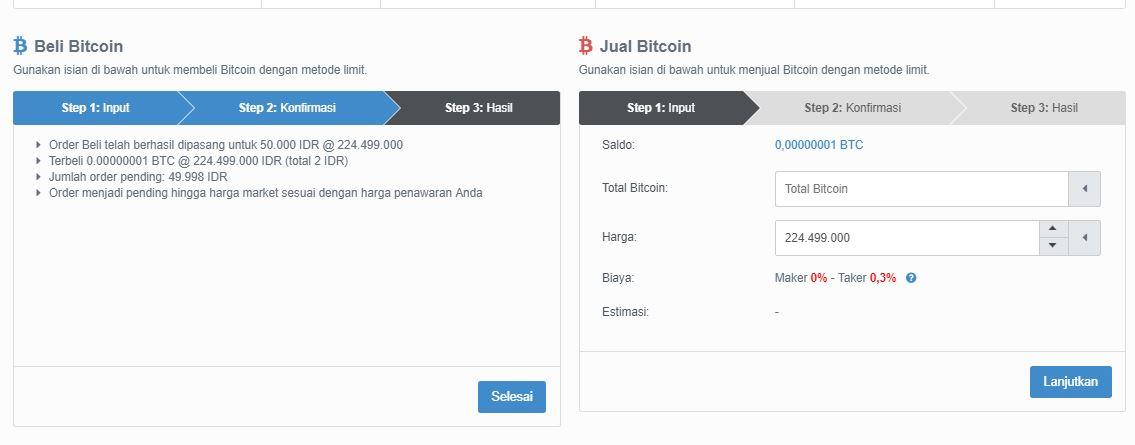 harga beli bitcoin