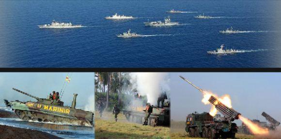 Armada tempur TNI AL